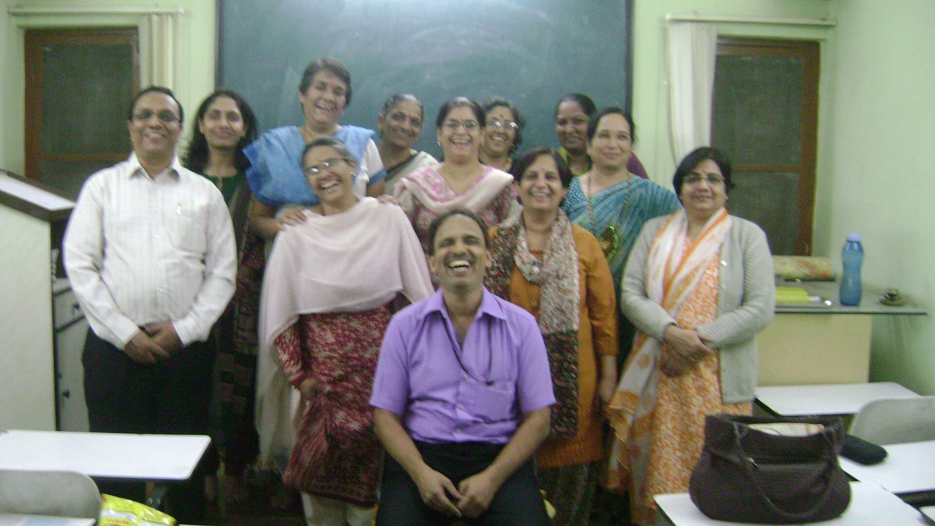 madhav-joshi-class-room-health-training