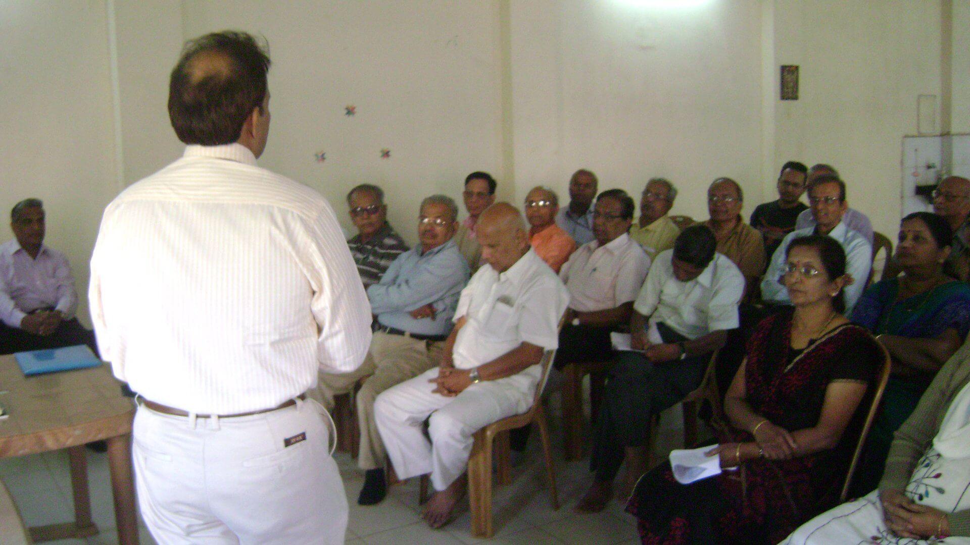 madhav-joshi-class-room-health-seminar